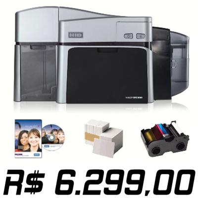 Promoção Imperdível !!! Impressora Fargo DTC1000 Dual-Sided com Kit de Suprimentos - Pagamento com Boleto Bancário Banco do Brasil - Equipamento Novo com 18 meses de Garantia.